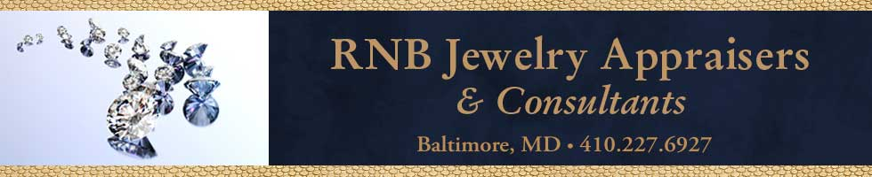 RNB Jewelry Appraisal, Baltimore, MD Gemologist